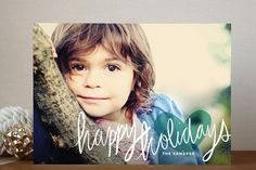 Autograph Holiday Photo Cards by Jody Wody | Minted