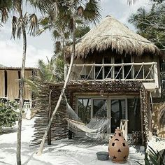 15 Thatched Roof Ideas, Advantages and Disadvantages Surf Shack, Beach Shack, Tropical Beach Houses, Jungle House, Bamboo House, Tiki Hut, Beach Cottage Style, Beach Bungalows, Thatched Roof