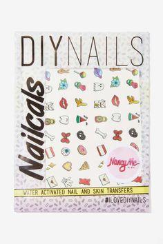 DIY Nails McNails Color Decal Set
