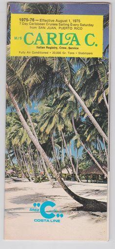 Costa Line Carla C. San Juan Puerto Rico, Deck Plans, Caribbean Cruise, Cruises, See Photo, Interior And Exterior, Line, Costa, Cruise Ships