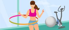 7 Hula Hoop Exercises for Sexy Abs