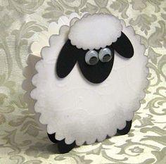 Открытка овечка своими руками
