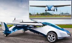 Finally! The flying car that really could be coming to a road (and sky) near you AeroMobil can fly 430 miles on a tank of petrol When its wings fold down, it can fit into a normal parking space Set to be launched on October 29th at Pioneers Festival in Austria.