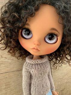 Large Eyes, Big Eyes, Vespa Retro, Ball Jointed Dolls, Girl Cartoon, Blythe Dolls, Beautiful Dolls, Fashion Dolls, Character Design