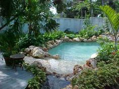Parker has been saying he wants to go to the backyard beach...maybe we can build him this one day!!