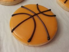 Basketball Sugar Cookies