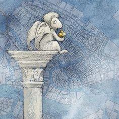 Leone di San Marco #leonedisanmarco #venezia #illustrazione #lauramichieletto