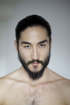 Anthony (Tony) Thornburg is a model and actor of Japanese and Swedish descent. He has appeared in numerous editorials and walked for well-known designers such as Etro, Giorgio Armani, and Yohji Yamamoto. He looks better as he ages with the beard and long hair!