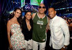 "Vin Diesel Michelle Rodriguez Jordana Brewster & Chris ""Ludacris"" Bridges"