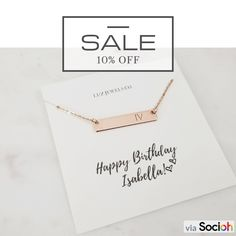 Birthday gifts for Women, Birthday Necklace Gift Present for Mom Best Friend Sister Daughter, Gift Box 90th Birthday Gifts, Birthday Presents For Him, Presents For Best Friends, Best Birthday Wishes, Birthday Party For Teens, Birthday Wishes Quotes, Birthday Gifts For Sister, Presents For Mom, Husband Birthday