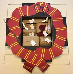 A Harry Potter themed care package for Lyle's birthday!