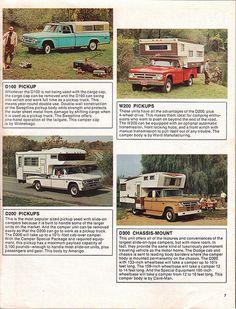 http://www.gillettesrv.com |  1970 Dodge Trucks Truck Campers