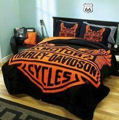 Harley Davidson King Size Blankets  King Size Harley