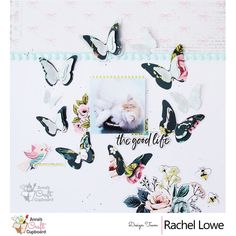 Our May 2019 Scrapbooking Sketch Challenge is up and it's now time to get crafty! This month, Rikki Graziani has created a stunning sketch challenge for us :) Here we have a stunning layout from Rachel Lowe x Craft Cupboard, Cupboard Design, Anna Craft, Prima Marketing, Scrapbook Sketches, Design Crafts, Life Is Good, Challenges, Paper Crafts