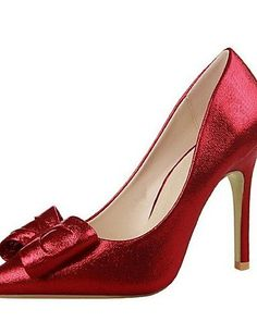X&D Damenschuhe - High Heels - Outddor / Lässig - Kunstleder - Stöckelabsatz - Absätze / Spitzschuh -Schwarz / Rosa / Rot / Silber / Grau / - http://on-line-kaufen.de/tba/x-d-damenschuhe-high-heels-outddor-laessig-rosa