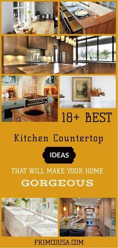 65 best kitchen countertop ideas images in 2019 decorating kitchen rh pinterest com