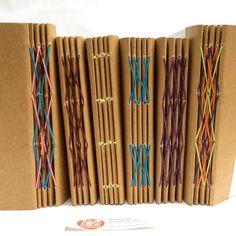 Exploring open spine #bookbinding follow my ig @vitarlenology www.vitarlenology.net #bookbinding #handmadenotebook