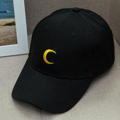 Sailor Moon Peaked Cap Baseball Cap Hats Embroidered Hats 63c29f603c7f