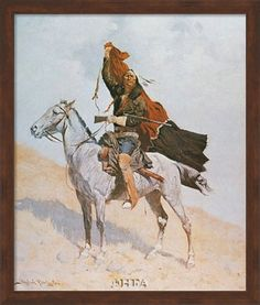 Frederick Remington was an early master of western art