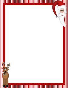 christmas stationery templates free printable | Christmas Stationery Template For Word