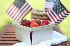 Easy 4th of July decor | Fourth of July Party