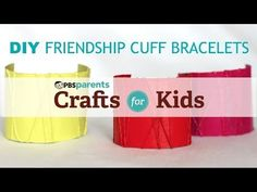 Can you believe that these cute cuffs are made out of toilet paper rolls?!