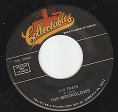 """45vinylrecord 219 Train/Real Gone Mama (7""""/45 rpm) COLLECTABLES http://www.amazon.com/dp/B01786HQPU/ref=cm_sw_r_pi_dp_kV6lwb1756096"""