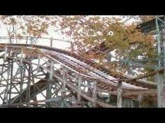 Blue Streak coaster, Conneaut Lake Park Conneaut Lake Park, Oil City, Blue Streaks, Pittsburgh, Coasters, Life, Blue Stripes, Coaster
