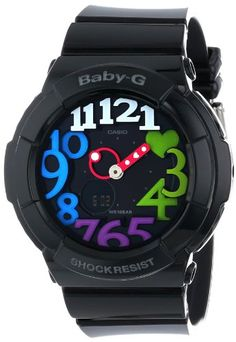 Casio Womens BGA1311B2CR BabyG Analog Display Quartz Black Watch ** You can get additional details at the image link.