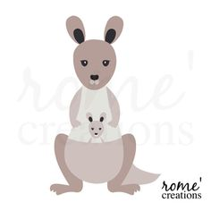 Kangaroo Digital Clip Art Set on Etsy, US$5,00