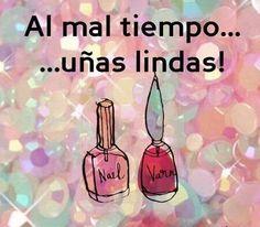 Llama al y agenda tu cita para aplic Love Nails, My Nails, Nail Station, Nail Salon Design, Nail Logo, Mini Spa, Nail Quotes, Nail Art Studio, Positive Phrases