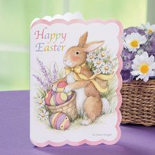 Diecut Bunny Easter Cards from Current Catalog