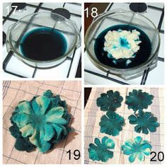 Tutorial How to make a felted flower brooch