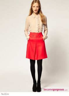 Paul & Joe Sister A Line Skirt - Chic Winter Skirts 2012 Pictures
