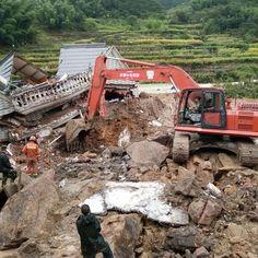 China reporta 6 muertos por deslaves tras paso de tifón - Terra Chile