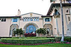 mar a lago palm beach - Google Search Tuscan Style Homes, Palm Beach, Castles, Florida, Exterior, Cook, Mansions, Google Search, Architecture