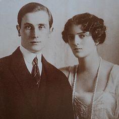 Princess Irina Alexandrovna and Prince Felix Yusupov, 1913.