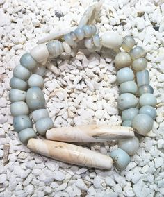 necklace- glass trade beads