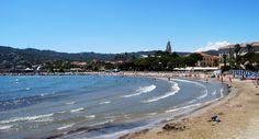 Diano Marina , la spiaggia (Italy)