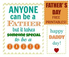 Fathers Day Gift Idea with Free Printables