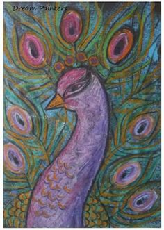 Dream Painters: Peacocks for Mother's Day