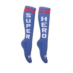Sox Box Super Hero socks $9. Great for running or other sports. Check these out and more fitness and health products at www.nutmegfitness.com