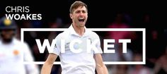 Chris Woakes against Pakistan