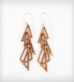 Four Triangles Earrings - LOVE