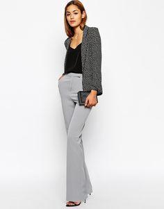 ASOS Tailored Flare Trouser