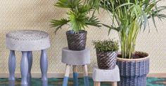 Tämä sopivan rouhea betonijakkara taipuu vaikka kukkapöydäksi. Katso ohje jutustamme ja sitten vaan valuhommiin!