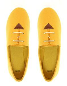 ASOS MADDOX Lace Up Flat Shoes