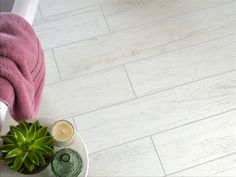 Sevenoaks White Oak Polished Wood Effect Tiles