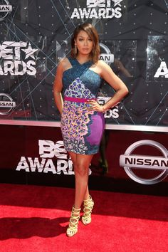 La La Anthony - All the Looks from the 2015 BET Awards - Photos