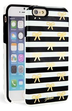 cute bow tie striped iPhone case